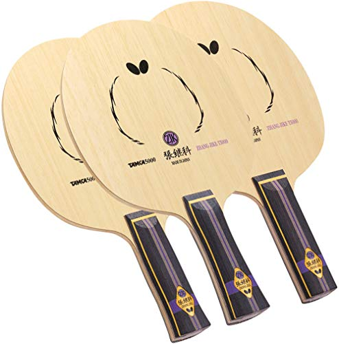 Butterfly Zhang Jike T5000 Table Tennis Blade - Professional Butterfly Table Tennis Blade - T5000 Carbon Blade - Available in AN, FL, and ST handle styles - Made in Japan