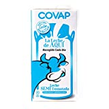 COVAP leche semidesnatada envase 1 lt