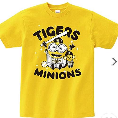 ミニオン USJ 阪神タイガース コラボ Tシャツ Mサイズ