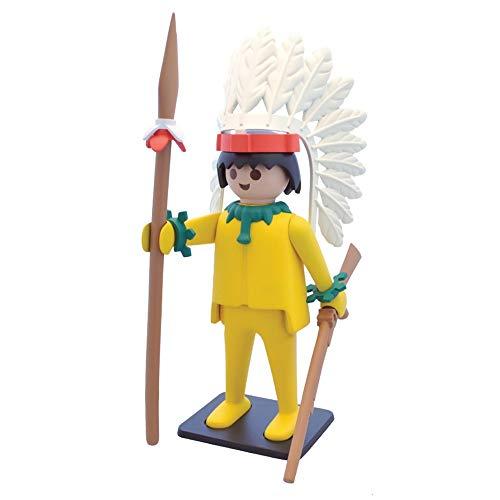 Plastoy- Estatua Jefe Indio Figura Playmobil, Multicolor (265)