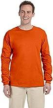 Gildan Ultra Cotton 6 oz. Long-Sleeve T-Shirt (G240)- ORANGE,XL