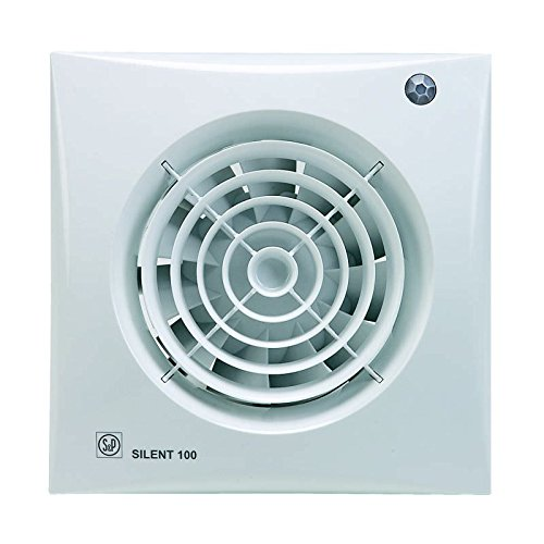 S & p silent-100 - Extractor bano silent-100-cdz 8w 2100rpm