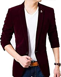 personality plus Solid Single Breasted Wedding, Party, Casual Mens Blazer