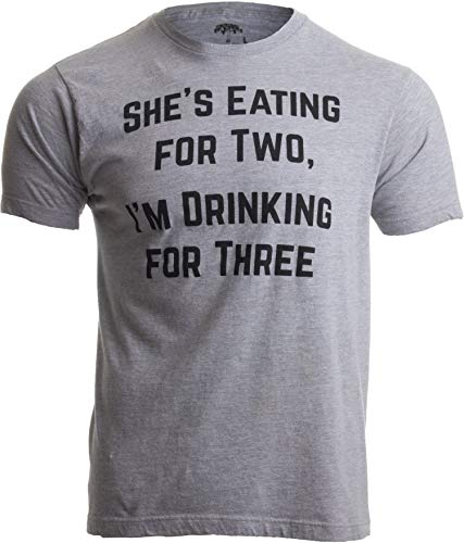 Product Image of the Drinking for Three | Funny New Dad Father Pregnancy Announcement Joke...