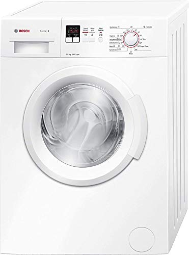 Bosch 6 kg Fully-Automatic Front Loading Washing Machine (WAB16161IN, White, Inbuilt Heater)