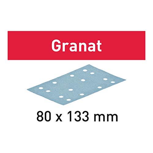Festool Abrasifs STF 80x133 P280 GR/100 Granat