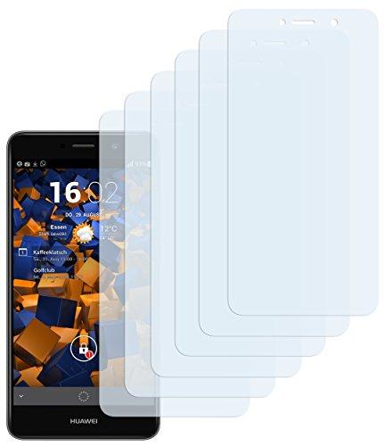 mumbi Schutzfolie kompatibel mit Huawei Y7 Folie klar, Bildschirmschutzfolie (6X)