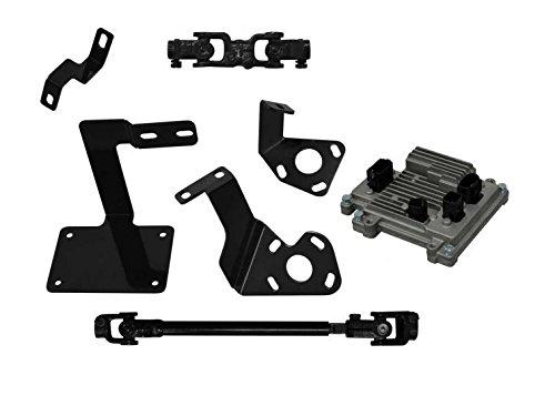 SuperATV EZ-STEER Power Steering Kit for Kawasaki Mule Pro FXT/FX/DX/FXR (See Fitment)