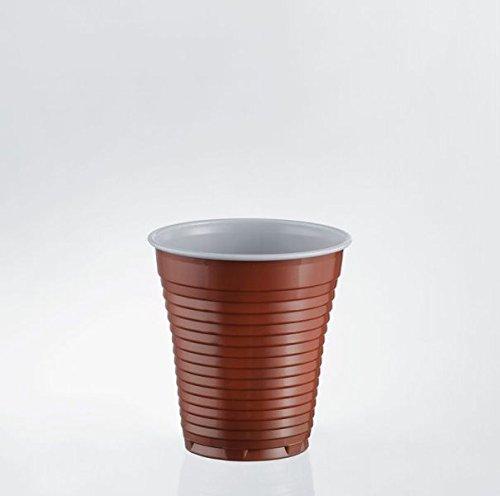 BICCHIERI BICOLORE X PL 75CC 50PZ BICCHIERINI PLASTICA CAFFè DISTRIBUTORE