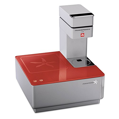 Illy Caffe Y1.1 216623 Touch Espresso Machine, Red