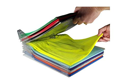 organizer armadio t shirt Organizer Salvaspazio per T-Shirt/Camicie/Documenti