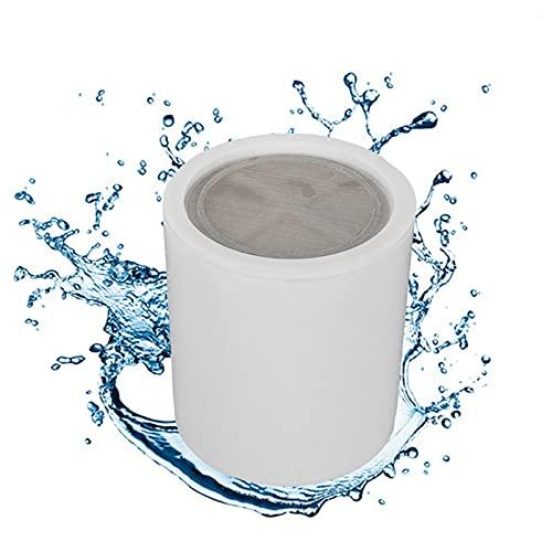 QWERTOUR Purificadores de Agua de Cloro Filtro Accesorios Accesorios de Cartucho Filtro de Ducha Piezas suavizantes para baño Casa de baño