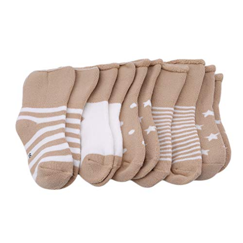 Yinew Mittelrohr Frottee Baumwolle Socken Kleinkind lose Welt Baumwolle Socken Kinder Frottee Baumwolle Socken Baby Winter Socken