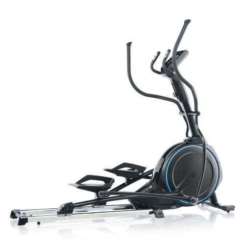 Kettler Skylon S Black,Blue - cross trainers (150 kg, Drive disk / Ribbed belt, Black, Blue, 22 kg, Chest belt, RPM-dependent control)