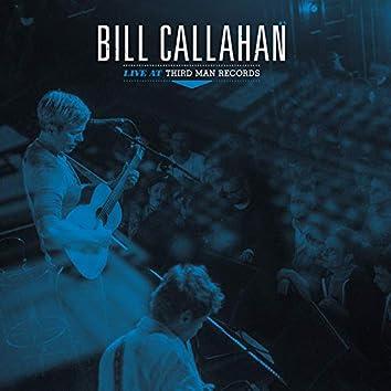 Bill Callahan (Live at Third Man Records)