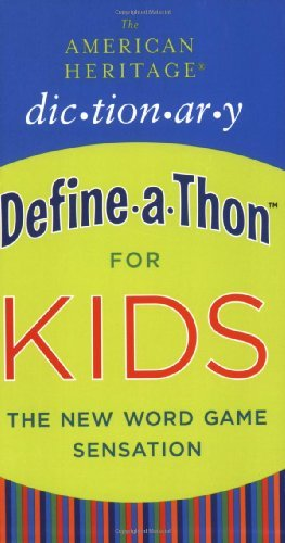 American Heritage Dictionary Define-a-Thon for Kids (English Edition)
