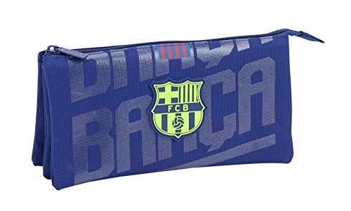 FCB FC Barcelona Estuche, Niños, Azul, 22 cm