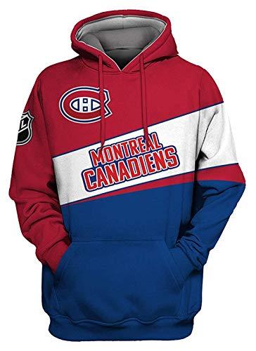 YIMINGss NHL Herren Eishockey Hoodie Kapuzenpullover Sweatshirt San Jose Sharks/Philadelphia Flyers/Chicago Blackhawks mit Reißverschluss Langarm Kapuzenjacke Pullover (Color : 4, Size : 3XL)