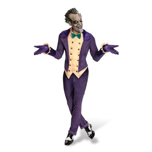 Fancy Me - Déguisement Costume Batman Méchant Joker Halloween Marchandise Officielle 4 Pièces