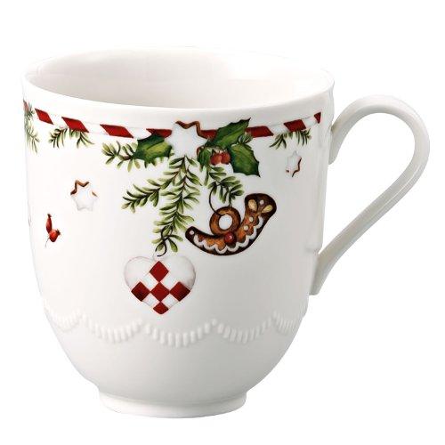 Hutschenreuther 02460-725492-15505 Weihnachtsleckereien Becher mit Henkel im Geschenkkarton
