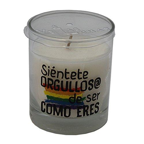 Lumar Vela perfumada con Olor a Coco y Mensaje