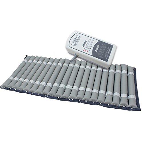 PIGE Spezielle Anti-Dekubitus-medizinische Luftmatratze-Umfassen aufblasbare Stummenpumpe und Bedpan Loch (Grau) (größe : A)