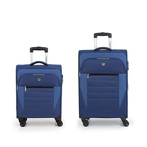 Gabol – Set of 2 Suitcases C22-M Gabol Sky Blue
