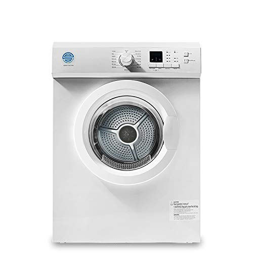 LFANH Freestanding Vented Tumble Dryer - White Tumble Dryers Dehydrator Spin Dryer Capacity 6KG