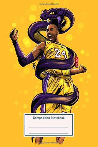 Composition Notebook: Legend Black Mamba for School & College for Writing and Notes