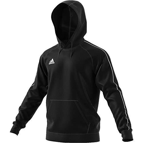 adidas Herren Core 18 Pullover, Black/White, S