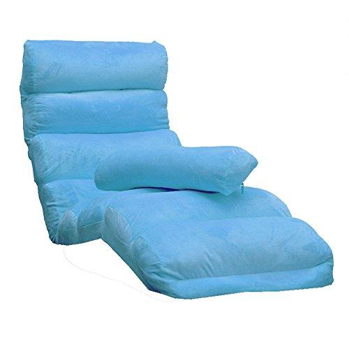 JFFFFWI Liegesofa, schwebender Einzelfenstersessel, Japanisches waschbares Klappsofa, Bettstuhl, Lounge-Sessel auf dem Balkon (Farbe: 6#)