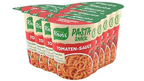 Knorr Pasta Snack Tomaten-Sauce, 8 x 69 g