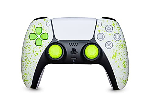 KING CONTROLLER PS5 Paddles Custom Green Bloody Design - DualShock 5 - PlayStation 5 - Wireless PS5-Controller
