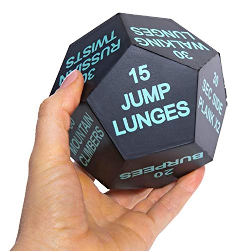 Series 8 Fitness 12-Sided Exercise dice