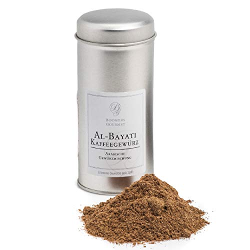 Boomers Gourmet - Kaffeegewürz Al-Bayati Arabische Gewürzmischung - Gewürzdose - 60 g