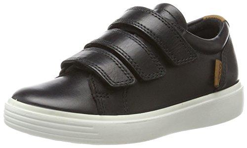 ECCO Jungen S7TEEN Sneaker, Schwarz (Black/Lion 59075), 32 EU