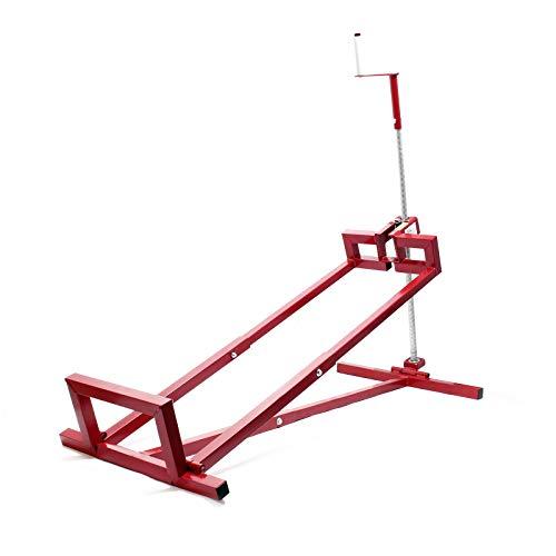 Reinigungshilfe Hebevorrichtung für Aufsitzmäher Rasentraktor bis max 400 kg