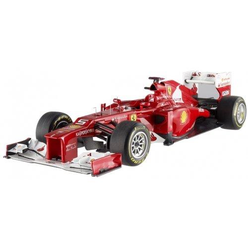 Hotwheels - Elite (mattel) - X5484 - Véhicule Miniature - Modèle À L'échelle - Ferrari F1 2012 - F. Alonso - Echelle 1/18