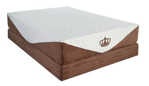 DynastyMattress 10-inch CoolBreeze Gel Memory Foam Mattress-Queen Size