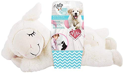 All for Paws Puppy Behavioral Aid Dog Toy Plush Toy Sheep, Heart Beat Pack Inside