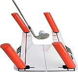 TOPQSC Ayudas de entrenamiento de golf mejoradas para entrenamiento de fuerza y ritmo Entrenador de swing de golf con bolsa de transporte Alineación de postura / Herramienta correctora de muñeca