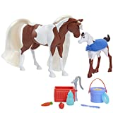 DreamWorks Spirit Riding Free Feed & Nuzzle Horse Set (11-Pieces)