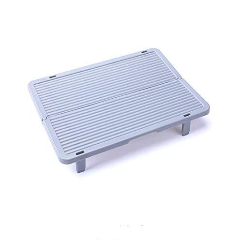 Pinhan Multifunktionsknödel-Halteregal, Stapelbare Nudel-Halterestelle für Brot, Gebäck,grau