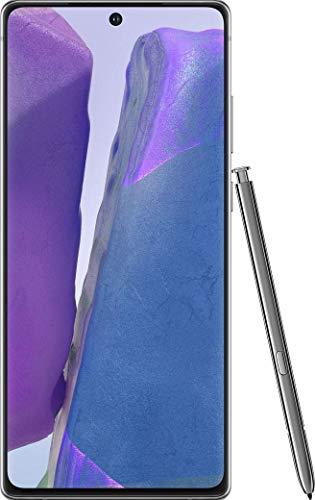 "Samsung Galaxy Note 20 256GB N980F/DS S-Pen 6.7"" Triple Camera GSM LTE Factory Unlocked Smartphone (International Version) (Mystic Gray) (Renewed)"