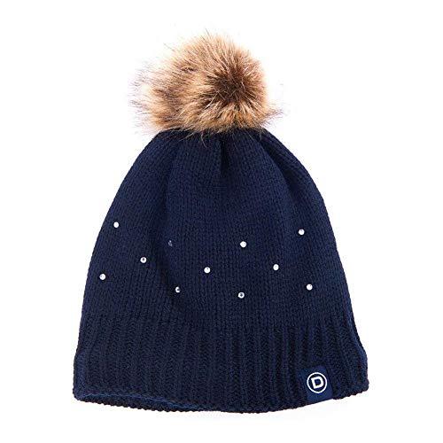 Dublin Sparkle Bobble Hat One Size Navy