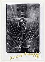 ポスター レナード フリード Harlem New York/Freed 額装品 ウッドベーシックフレーム(ホワイト)
