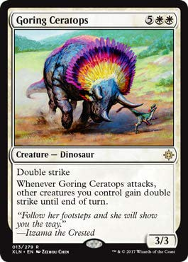 Wizards of the Coast Goring Ceratops - Ixalan