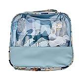 13pcs Kit Baby Care, Neonato Grooming Set, bambino Sanità Baby Kit Accessori Accudire Cutter di sicurezza Nail Set, aspiratore nasale, Nursery Kit neonato per neonati Neonati