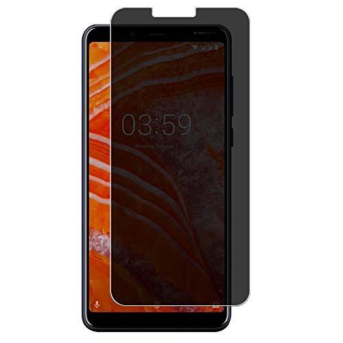Vaxson TPU Pellicola Privacy, compatibile con Nokia 3.1 Plus, Screen Protector Film Filtro Privacy [ Non Vetro Temperato ]