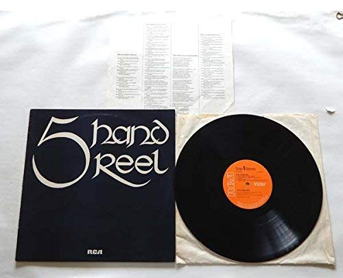 5 Hand Reel Self Titled - RCA Limited Records 1972 - Used Vinyl LP Record - UK Import - Includes The Lyrics Insert - Death Of Argyll - Wee Wee German Lairdie - Frankies Dog